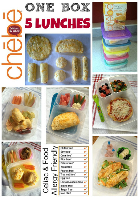 Lunch Made Easy: Chebe Gluten Free Mix – One Box, Five Lunches.1
