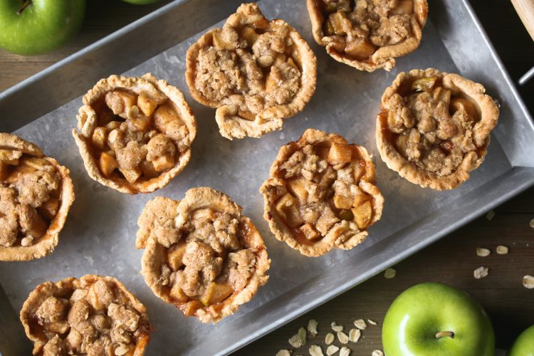 Gluten Free Apple Crisp Cups