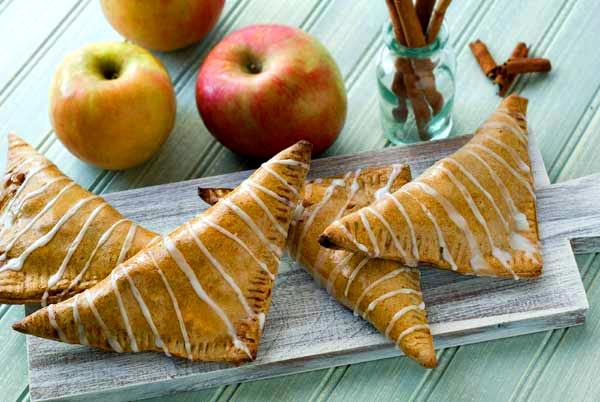 Grain Free Cinnamon Apple Turnovers