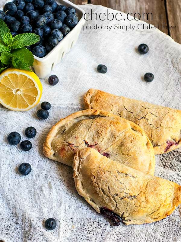 blueberry hand pies, non-gmo