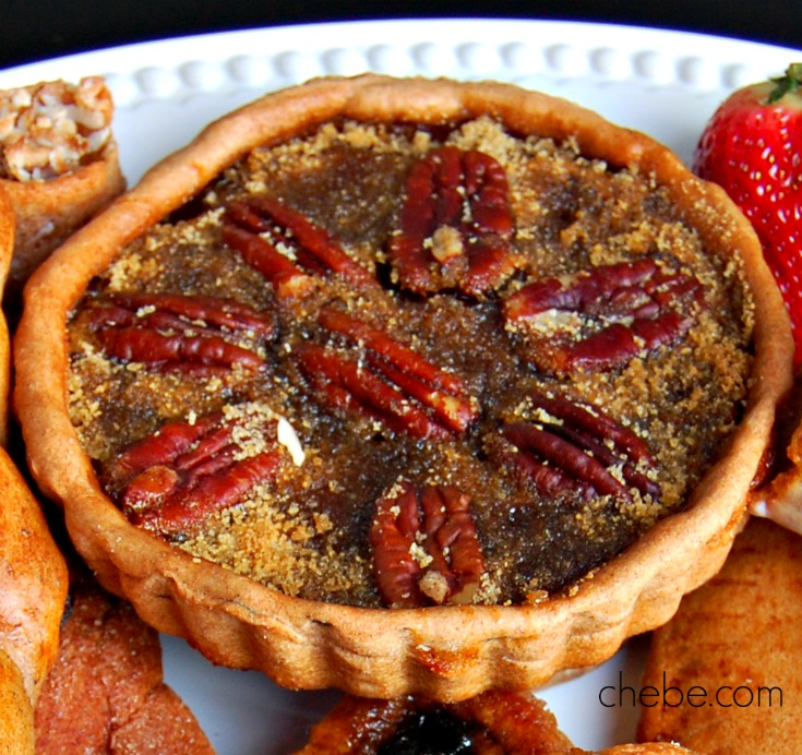 Chebe Cinnamon Pecan Tartlets