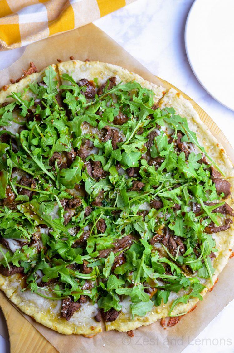 Chebe Korean BBQ Pizza