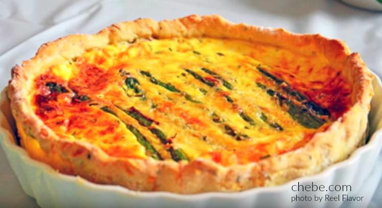 Chebe Asparagus Quiche