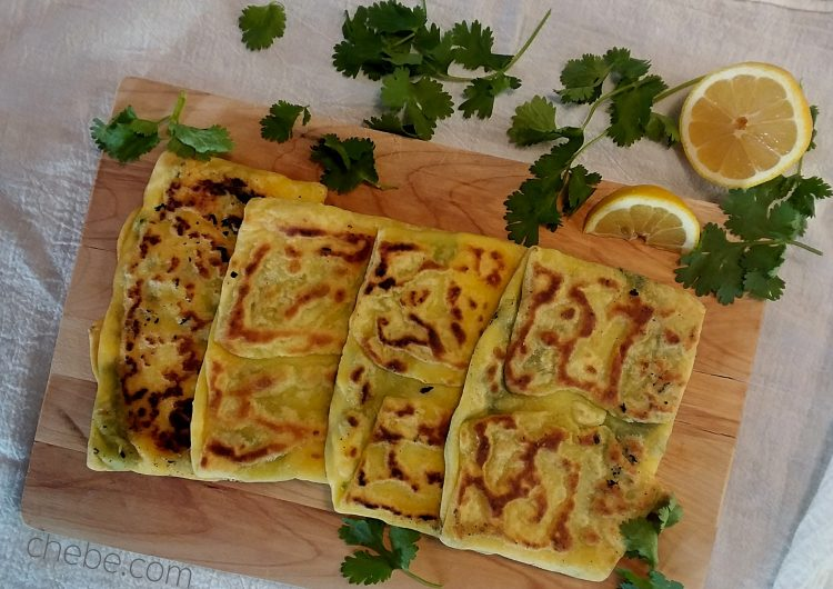 Spinach and Feta Gozleme (Savory Turkish Pastry)