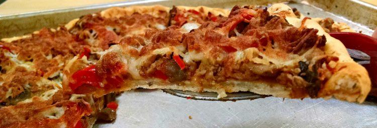 Chebe Sausage Pizza