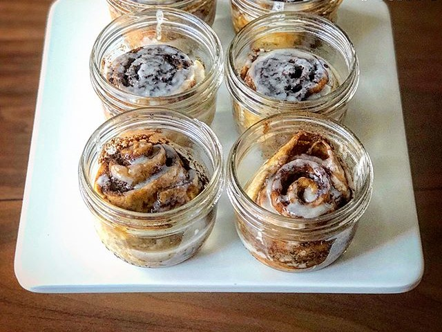 Chebe Sous-vide Cinnamon Rolls