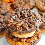 Mini Chocolate Pecan Pies, Gluten and Grain Free (w/ Dairy Free Option)