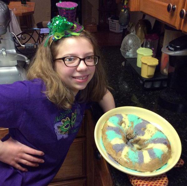 Gluten Free Praline King Cake