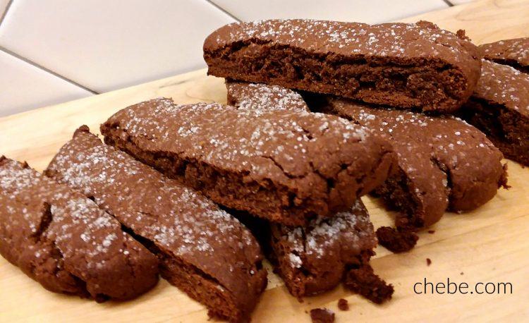Chebe Chocolate Biscotti