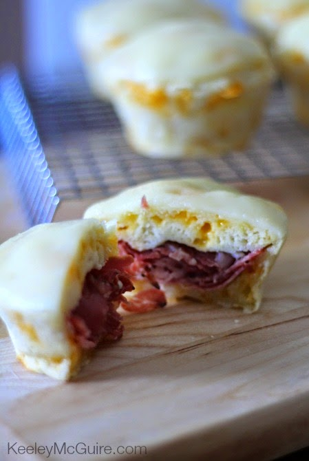 Italian {Sandwich} Cupcakes with Provolone Cheese Icing
