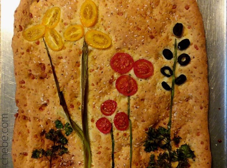 Flower Garden Flatbread