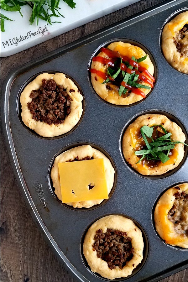 Cheeseburger Muffin Cups