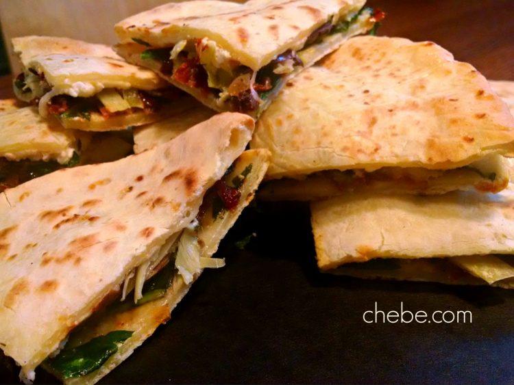 Gluten Free Greek Quesadillas