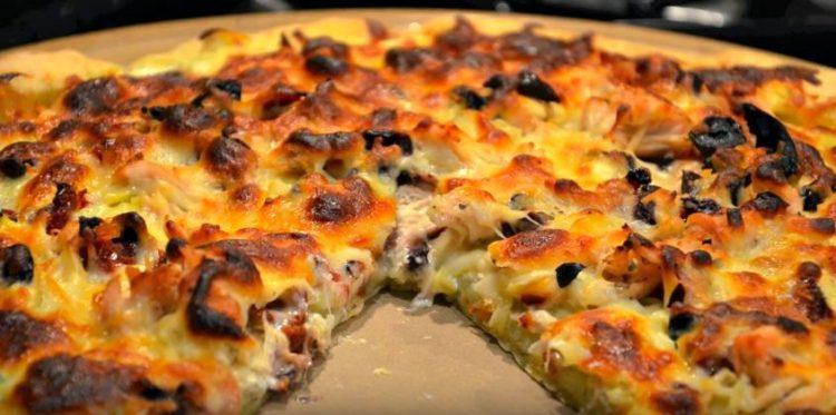 Gluten Free Greek Pizza