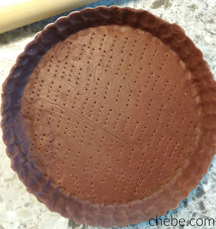 Grain Free Chocolate Crust for Pies and Tarts