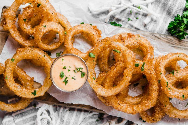 Gluten-Free/Grain-Free Deep-Fried Onion Rings
