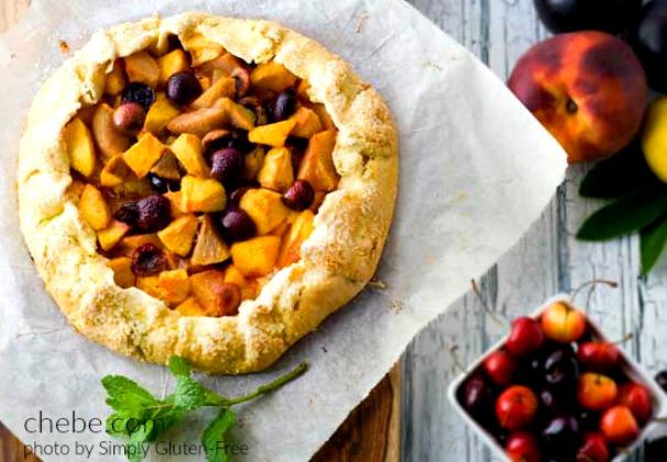 Gluten Free Fruit Galette