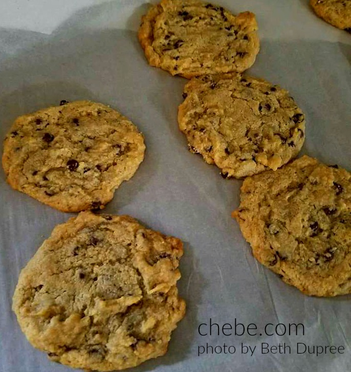 Grain Free Vegan Chocolate Chip Cookies